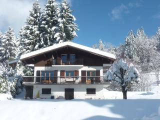 In a chalet on the ground floor, nature, comfort and relaxation