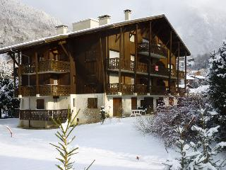 south facing apartment in a chalet Samoens 1st floor with elevator, garage (box s / ground)
