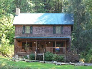 Private wooded 2BR cabin in Smokies (litt)