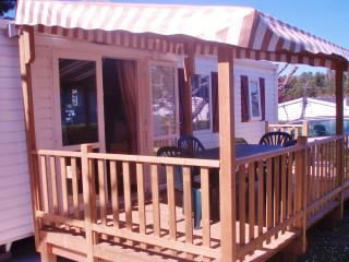 Mobile home for rent in Charlotte d'Azur (Var) 5 people
