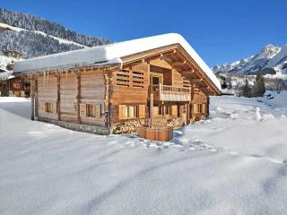 La Clusaz - Luxurious ski-in-ski-out chalet close to resort, steam bath, wifi