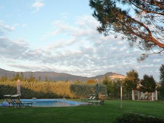 Casa bel Posto, 3 bd 2 bath farmhouse w/large pool