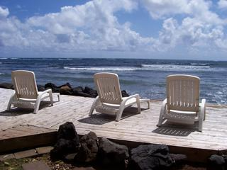 North Shore Oahu beachfront 1bd/1ba w/Hot Tub