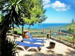 ELBA home for vacations. Large veranda and terrace. 180 sea view 