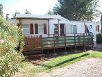 Rsidentiel air-conditioned mobile home 3 bedrooms 4 canvases Camping in the Carabasse