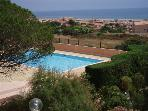 T2 + LOFT, BEAUTIFUL SEA VIEW, POOL, PARKING PRIVATE WOODED residency