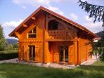 TRADITIONAL CHALET IN NEW SOLID PLANK QUIET ASSURE DELIVERY OF STANDING (COMMON XONRUPT-LONGEMER GERARDMER 5Km)