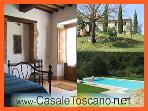 LAST MINUTE Holiday Antico Casale Toscano POOL &amp; SAUNA, 130 km from Rome (25 ? / day per person)