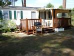 MOBILE HOME 3 BEDROOMS, in a holiday village ****