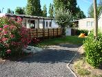 "For rent mobile home comfort 6 pers.  ""The Carabasse """