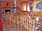 CHARMING COTTAGE IN THE HEART OF SAVOYARD 3 VALLEYS CHALET  &quot;LE CERVIN &quot; LABEL ***