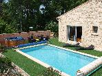 Mas in Provence rent 6 / 8 persons Pool &amp; Spa 