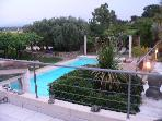 detached villa with pool in proprit 20 km from the sea