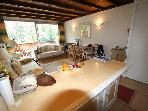 Pra Loup 1600, Studio south facing terrace, close to the slopes, 4 people, quiet