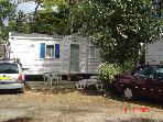 MOBILE HOME NEAR THE BEACH WITH POOL discovery, BAR, snack, grocery