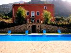 Typical Sicilian villa with big pool,quiet place
