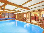 Spacious 5 bedroom luxury chalet. Recently renovated - indoor swimming pool, sauna