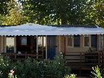 "At Vias Plage in the park rsidentiel  ""The Carabasse "" mobile home rents range prestige location on said Royal (The Mazets)"
