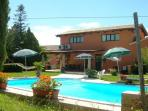 Country House with pool for 8 persons near Rome