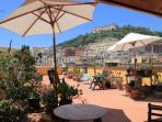 Apartment mit Panorama-Terrasse super-