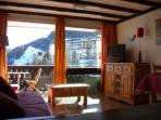 PRA-LOUP 1600, Studio-cabin, 150m from the slopes, 50m from the resort
