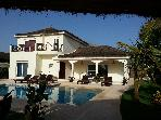 New villa 40m from the beach for 6 persons - private pool - Staff included - www.villakassoumai.com