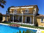 HOUSE TO RENT WITH SWIMMING POOL AND EXOTIC GARDEN, CLOSED TO THE SEA