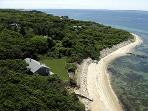 245 - WATERFRONT COTTAGE OVERLOOKING THE VINEYARD SOUND AND PRIVATE BEACH