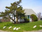 1187 - WHAT A LOCATION! CLASSIC VINEYARD FISHING VILLAGE VIEWS FROM THIS QUINTESSENTIAL COTTAGE