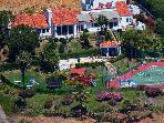 Private Tennis Estate By The Sea