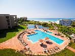 San Remo 408, gulf frt, pool, WIFI, beach chairs!