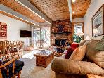 Motherlode 2BR Condo Wood Fireplace WIFI Pool/Hot Tub Breckenridge Lodging