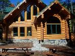 Luxury Log Home-Naples, Bridgton, Harrison area