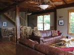 Unique Post and Beam in Wooded Setting
