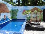 Villa Rahasia- 2 bedroom Legian -Wi Fi  & Cable TV