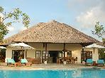 Beautiful Villa Bersama on the beach in Bali