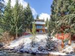 Rapids Retreat 4BR Home on River Hot Tub WIFI Breckenridge Lodging