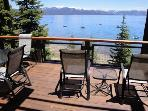 Secluded 3BR Town House w/Fireplace, Deck & Amazing Views - Steps from Lake Tahoe!