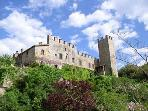 Torre del Vescovo -- Medieval Castle in Tuscany