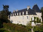 Chateau Rental Loire Valley - Chateau de Valerie with Coach House