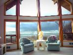 Ocean Front Home on Miles of Sandy Beach!