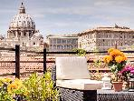 Borgo Pio Terrace Apartment-San Pietro view
