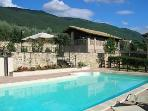 VILLA ROSY Charming farmhouse with pool in Assisi