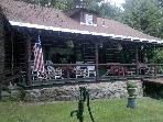 Authentic Log Home Weekly Rentals- Mohican Springs