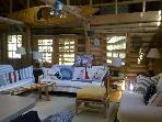 Cedar Log Cabin in Boothbay Harbor Maine