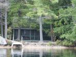 Rustic Lake Winnipesaukee Waterfront Camp in Moultonborough (AUS76W)