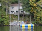 Incredible Meredith Bay Waterfront Vacation Rental (DAL67W)