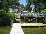 Gorgeous Southerly Views from this Waterfront Vac Rental on Winni (STA114W)