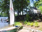Private &amp; Charming Waterfront Cottage on Lake Winnipesaukee (PRI26W)