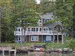 Contemporary Waterfront Sleeps 14 On Lake Winnipesaukee (PAS54Wc)